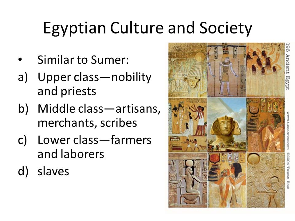 Egyptian Culture and Society