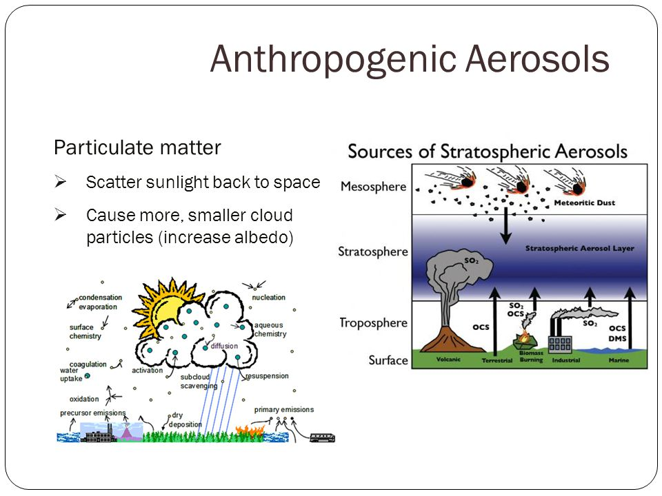Anthropogenic Aerosols