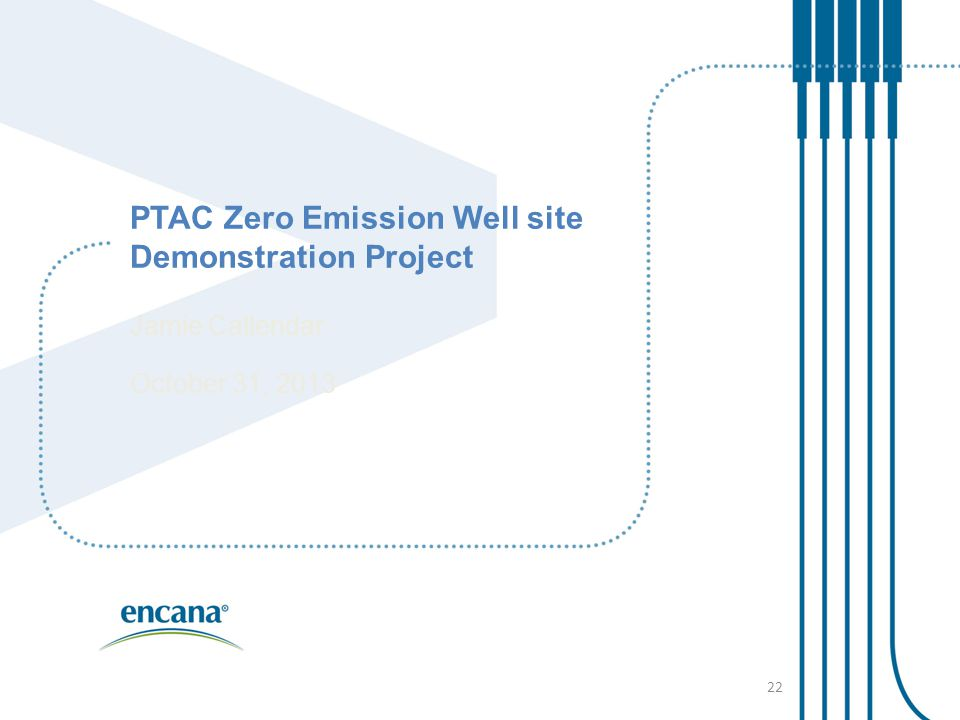 PTAC Zero Emission Well site Demonstration Project