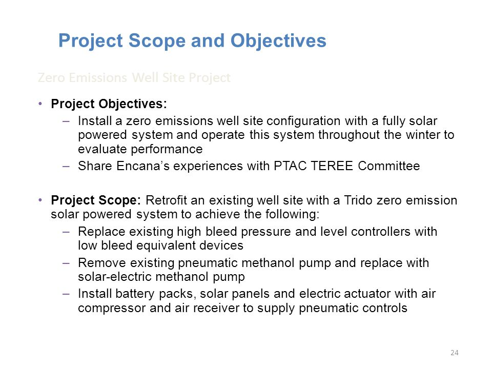 Project Scope and Objectives