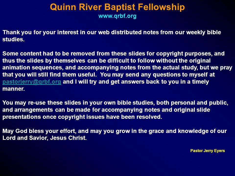 Quinn River Baptist Fellowship