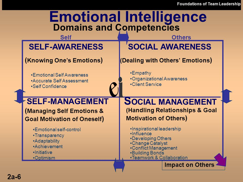 relationship between emotional intelligence and motivation