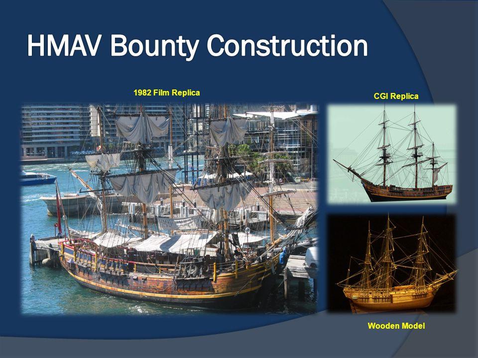HMAV Bounty Construction