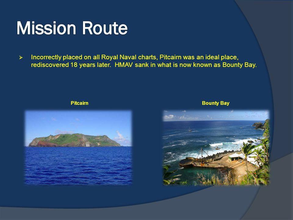 Mission Route