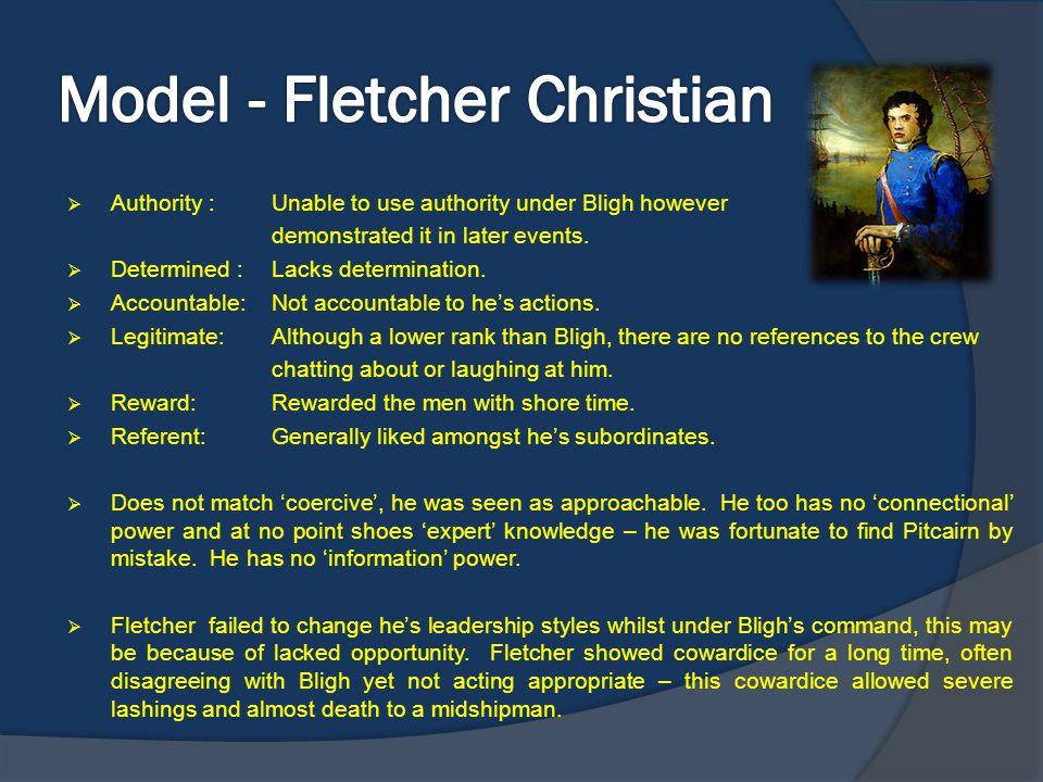 Model - Fletcher Christian