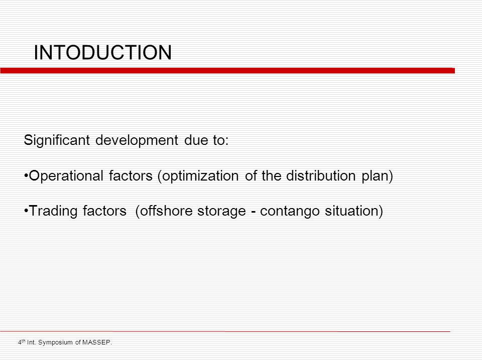 INTODUCTION Significant development due to: