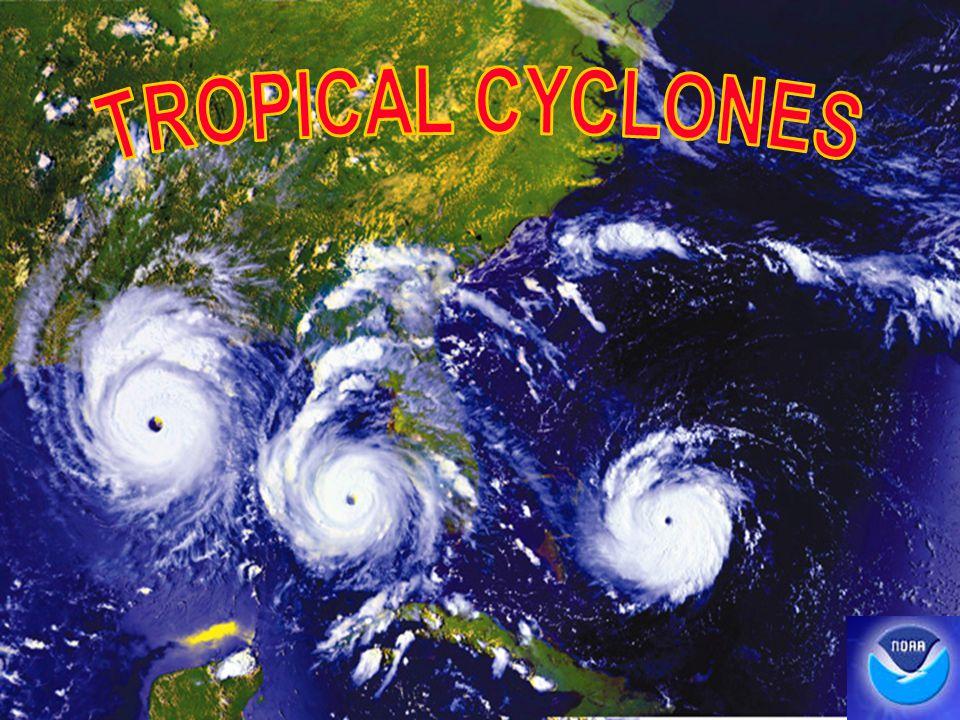 TROPICAL CYCLONES 1 1