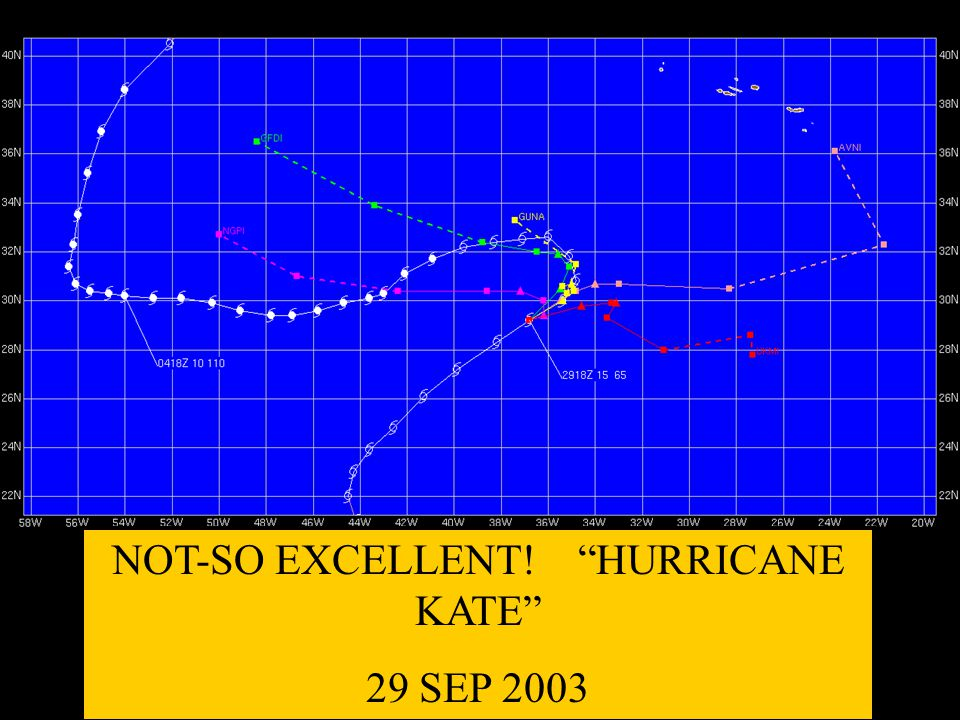 NOT-SO EXCELLENT! HURRICANE KATE