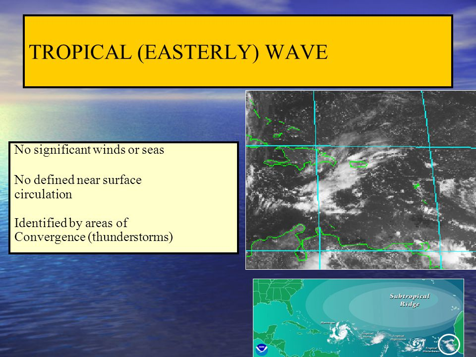 TROPICAL (EASTERLY) WAVE