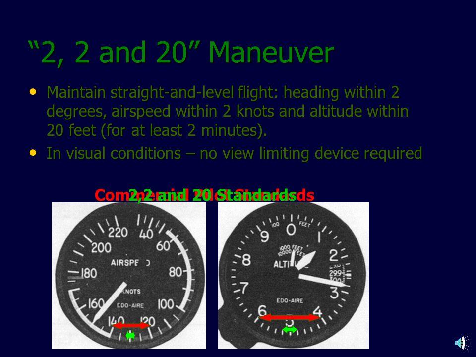 Commercial Pilot Standards