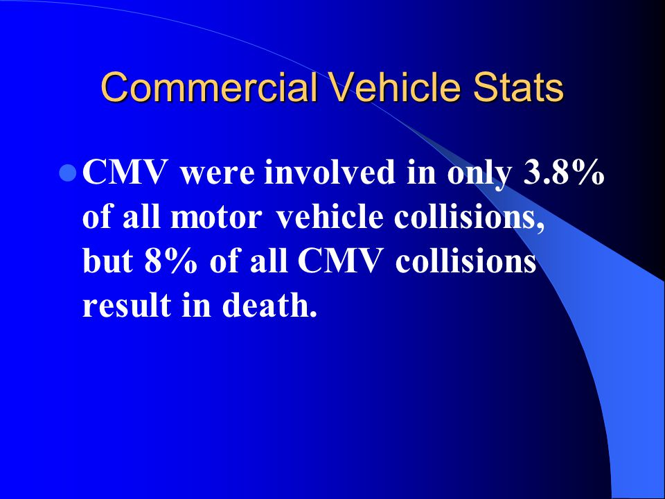 Commercial Vehicle Stats