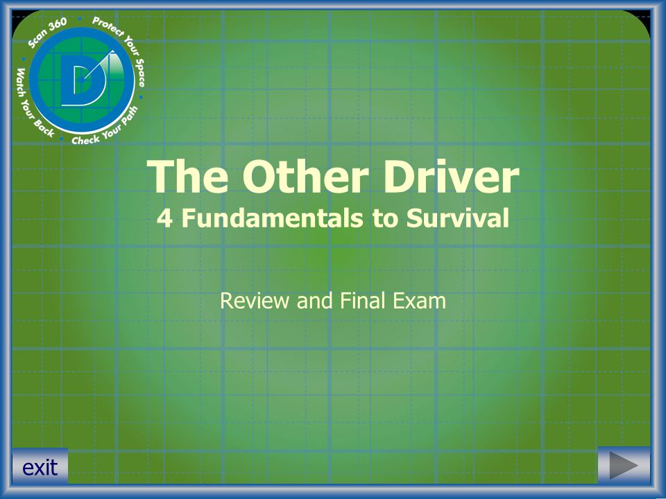 The Other Driver 4 Fundamentals to Survival