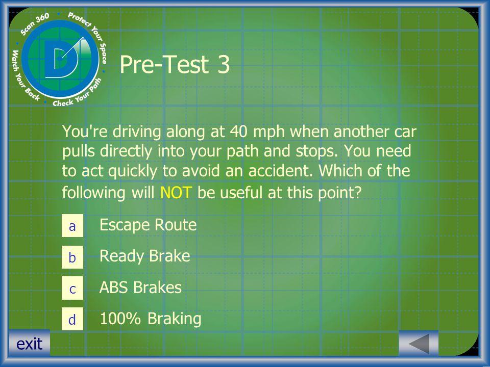 Pre-Test 3