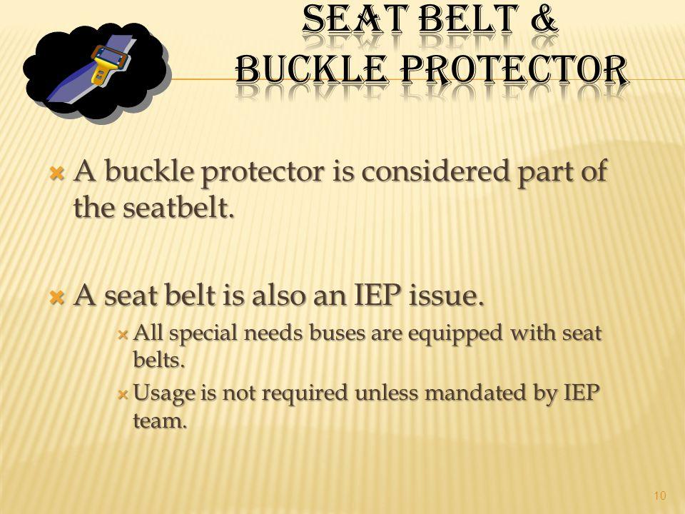 Seat belt & Buckle Protector