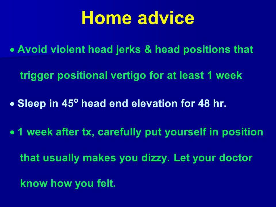 Home advice