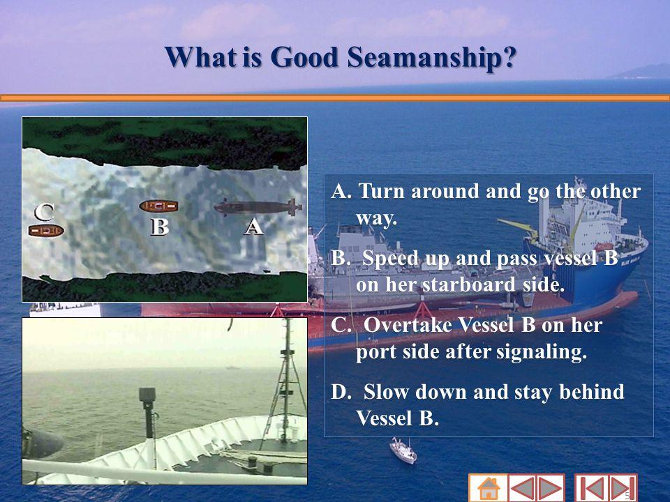 What is Good Seamanship