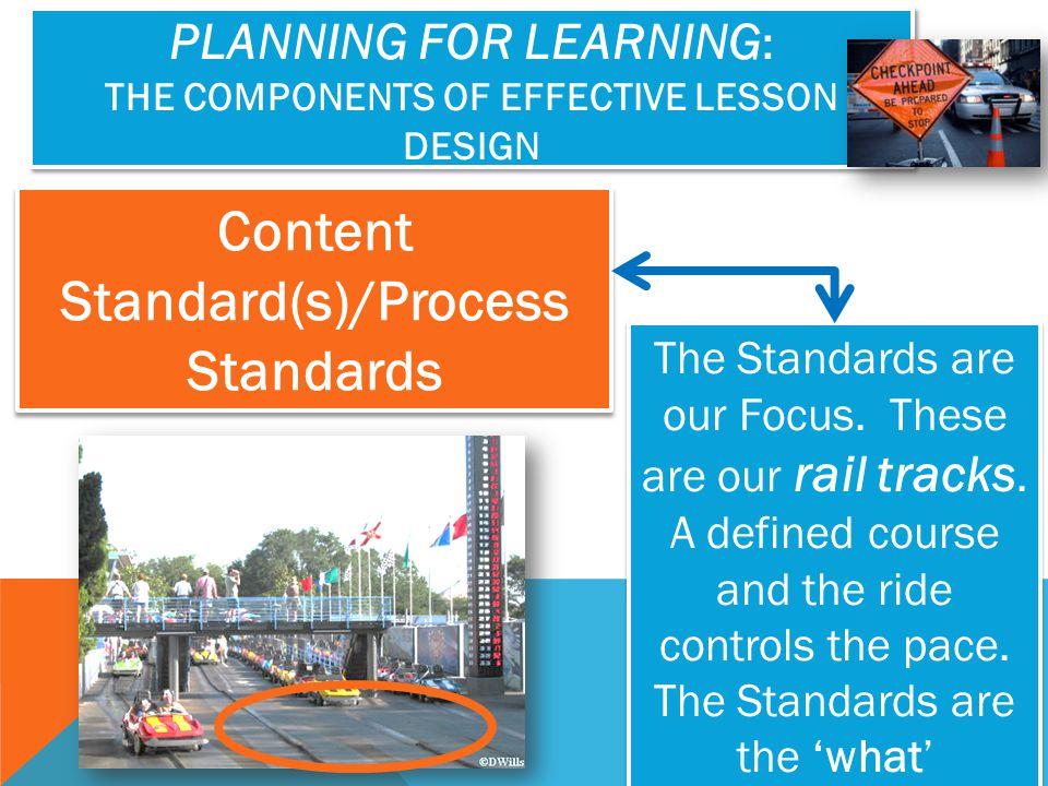 Content Standard(s)/Process Standards