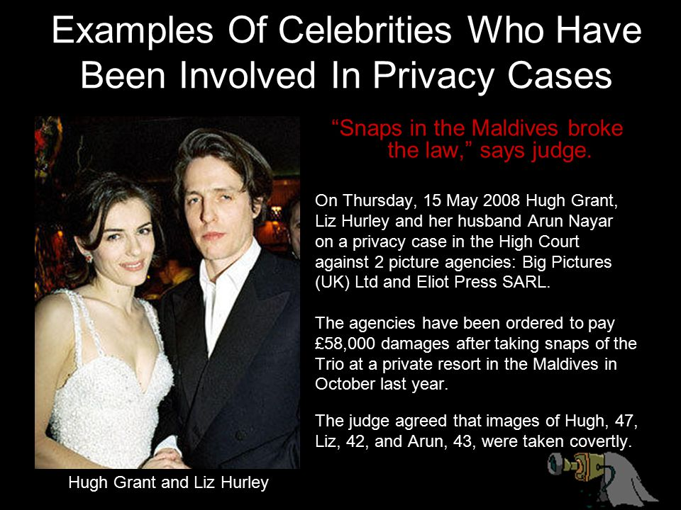 Examples Of Celebrities Who Have Been Involved In Privacy Cases
