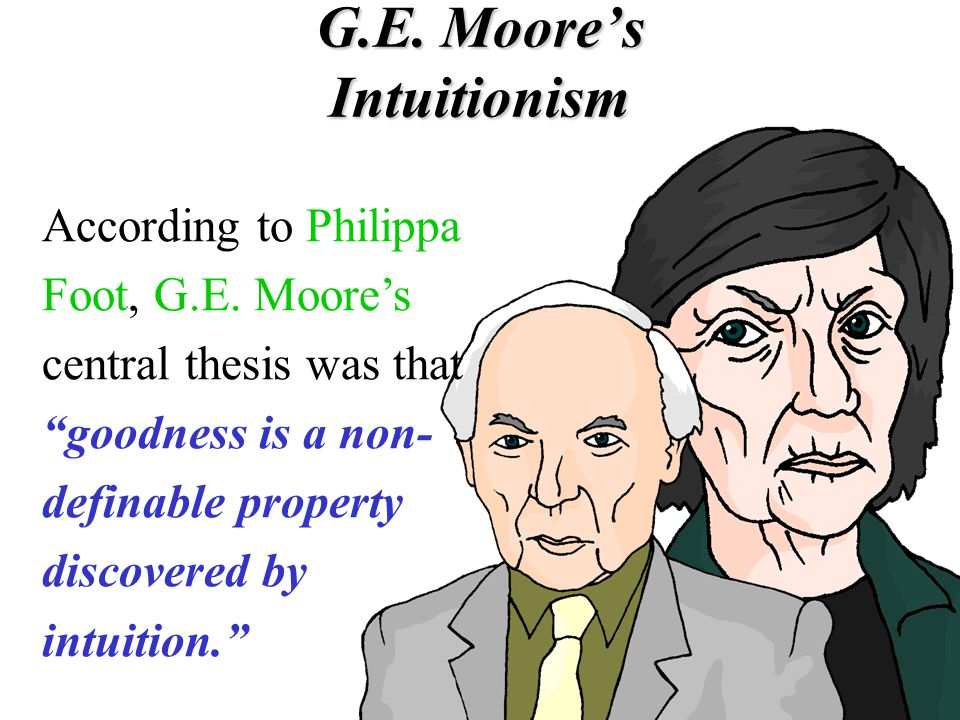 G.E. Moore's Intuitionism
