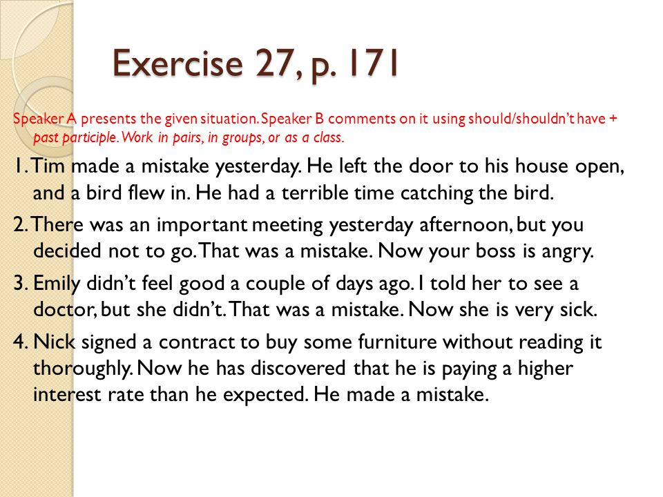 Exercise 27, p. 171