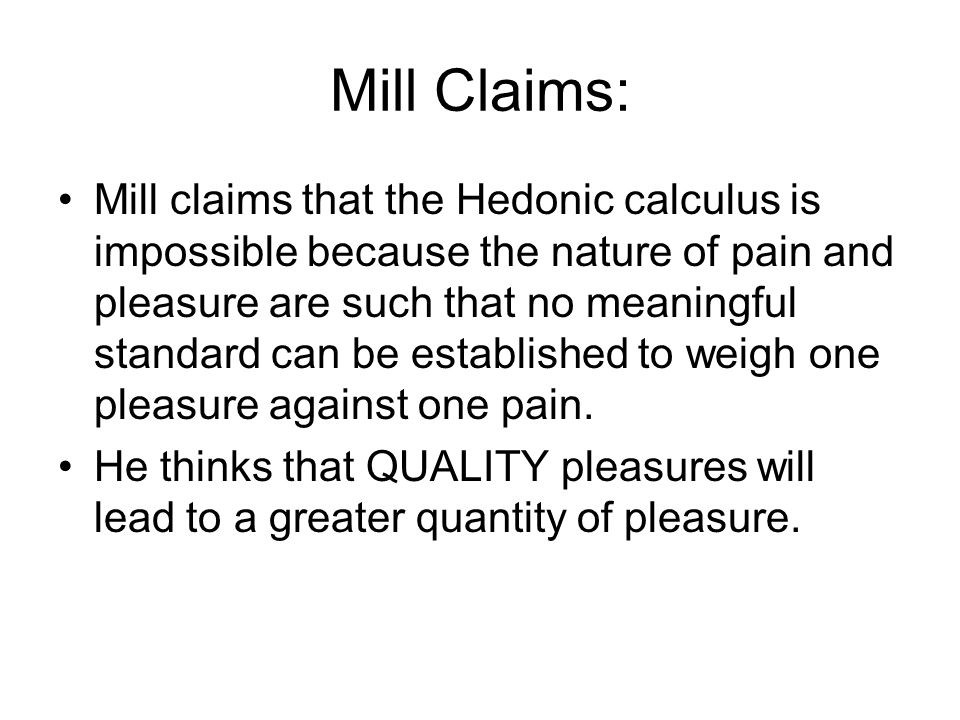 Mill Claims: