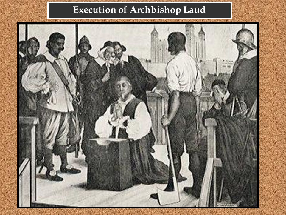 Execution of Archbishop Laud