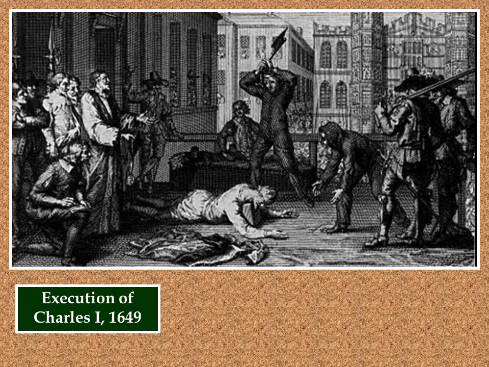 Execution of Charles I, 1649
