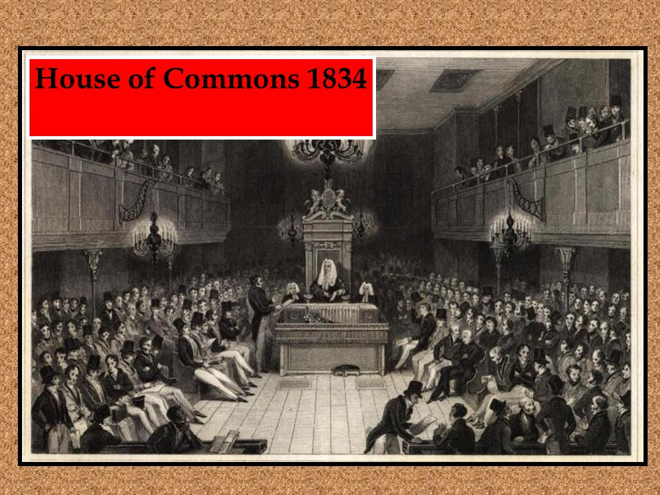 House of Commons 1834