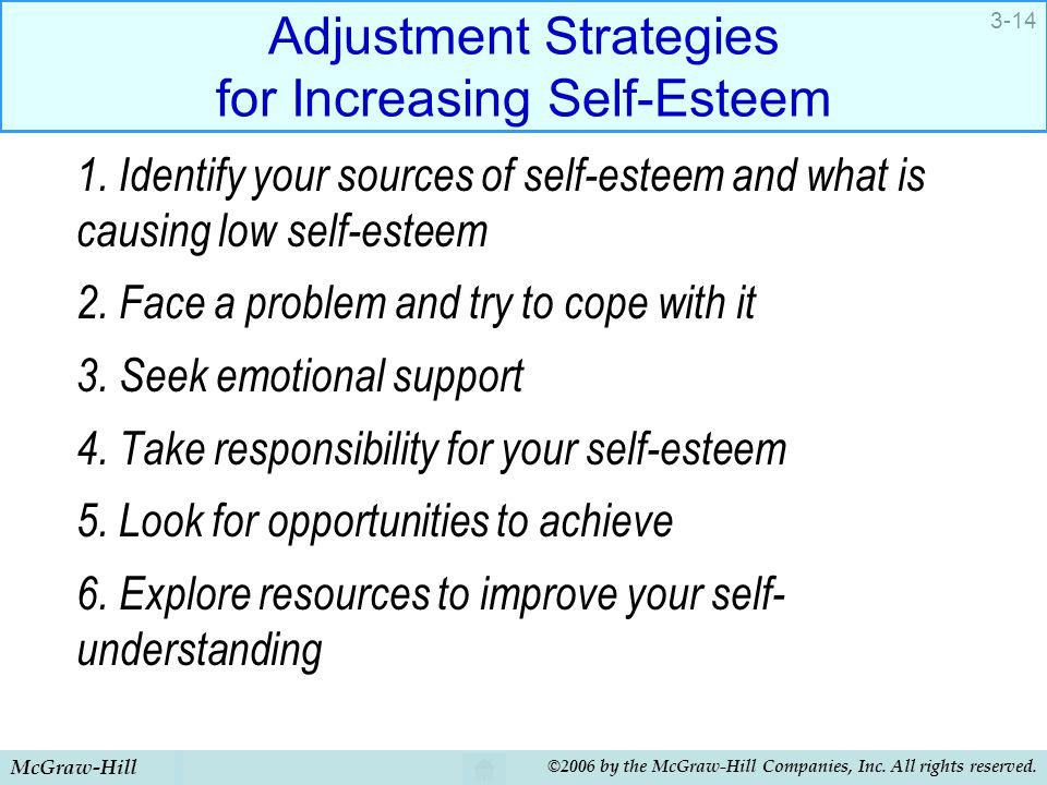 Adjustment Strategies for Increasing Self-Esteem