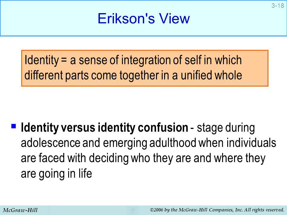 Erikson s View