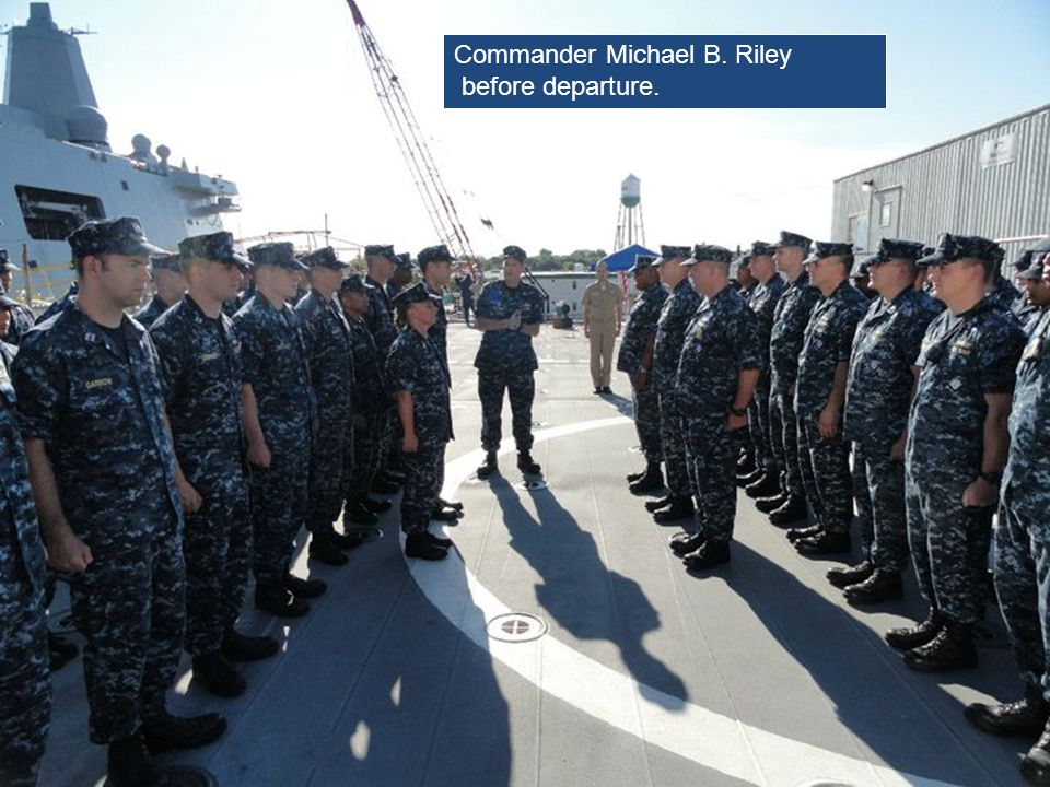 Commander Michael B. Riley