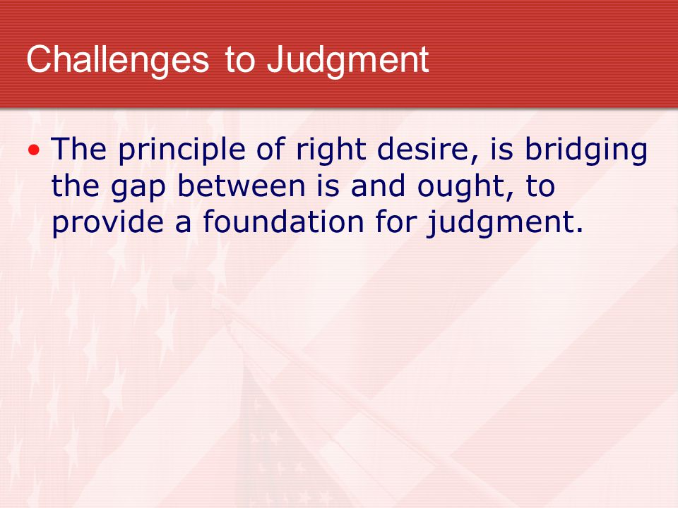 Challenges to Judgment