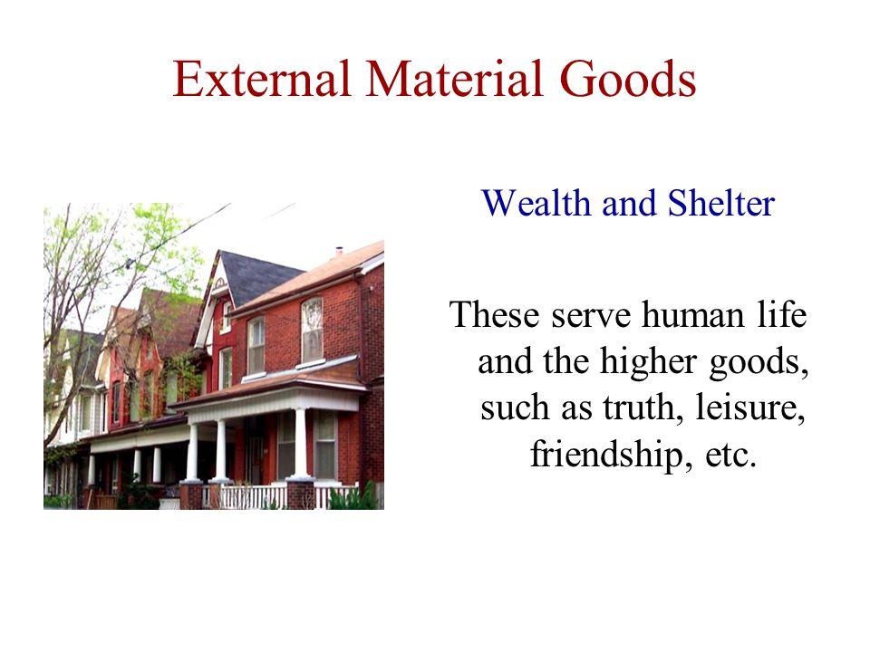 External Material Goods