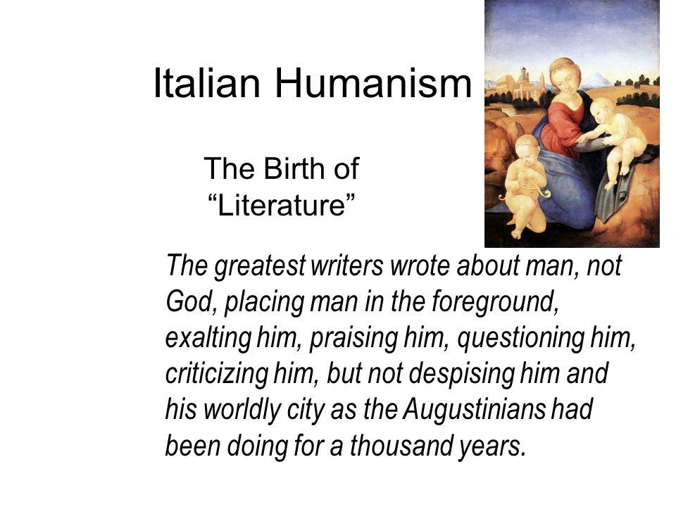 The Birth of Literature