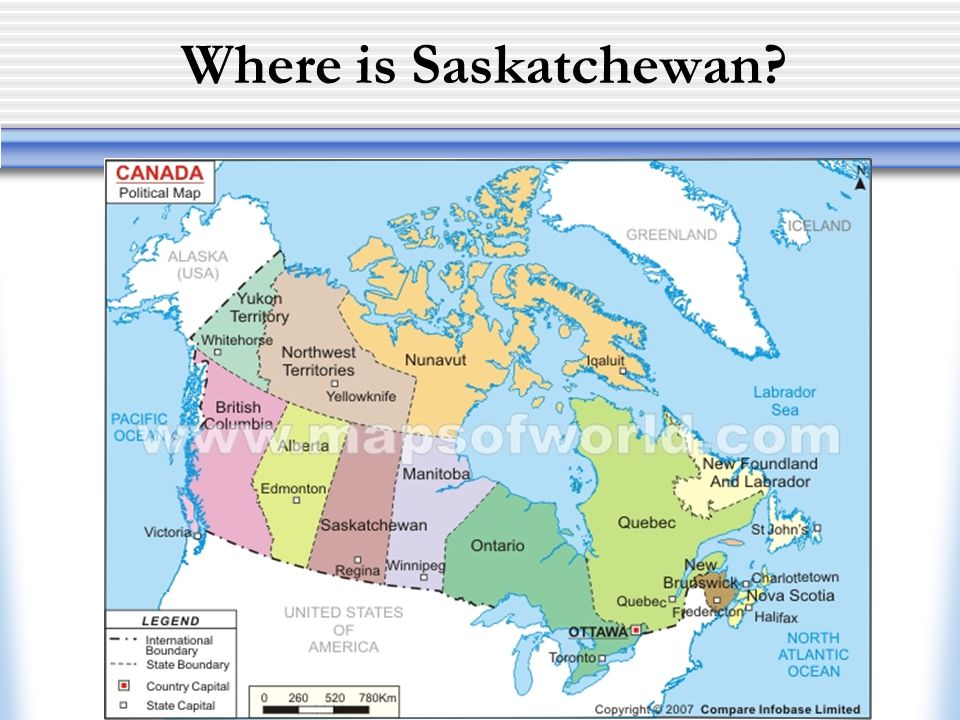 Where is Saskatchewan