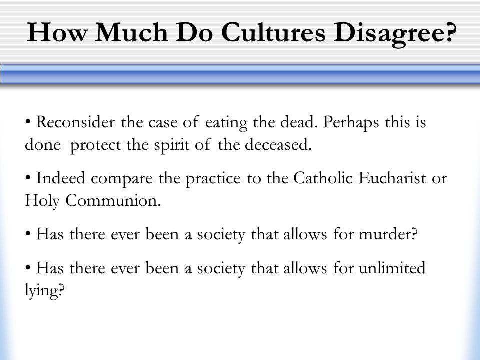 How Much Do Cultures Disagree