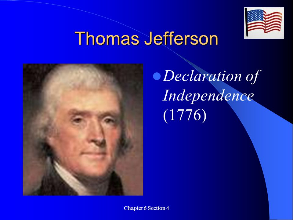 Thomas Jefferson Declaration of Independence (1776)