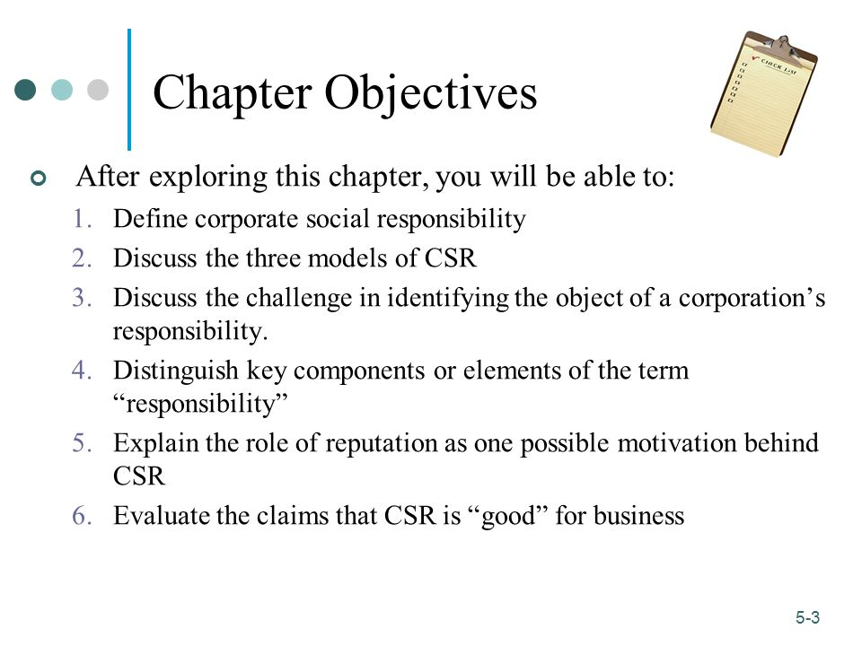 Chapter Objectives After exploring this chapter, you will be able to: