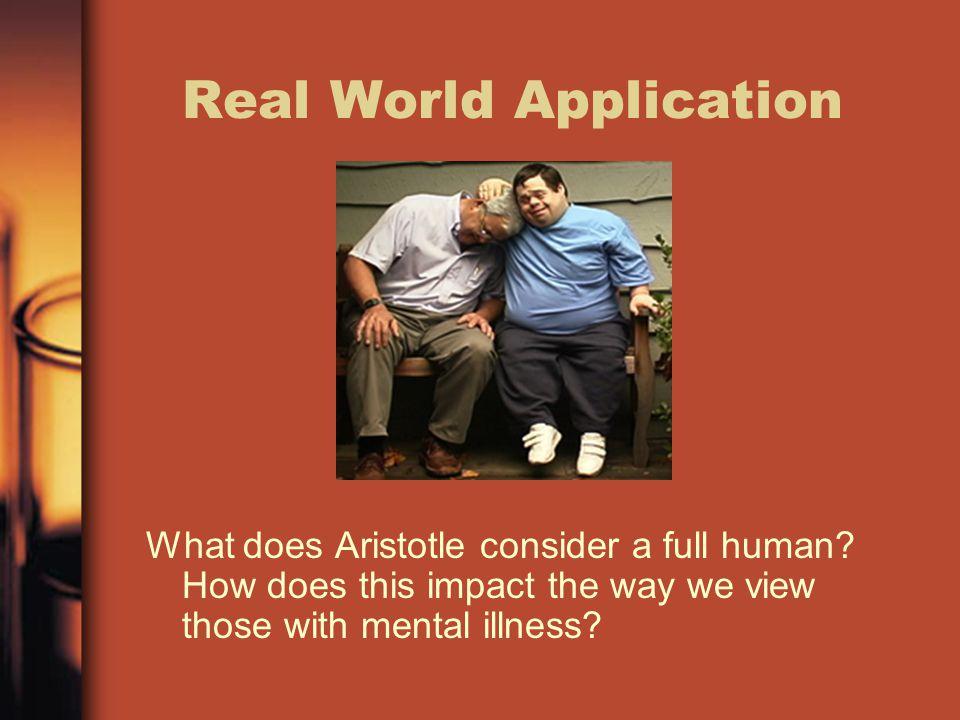 Real World Application