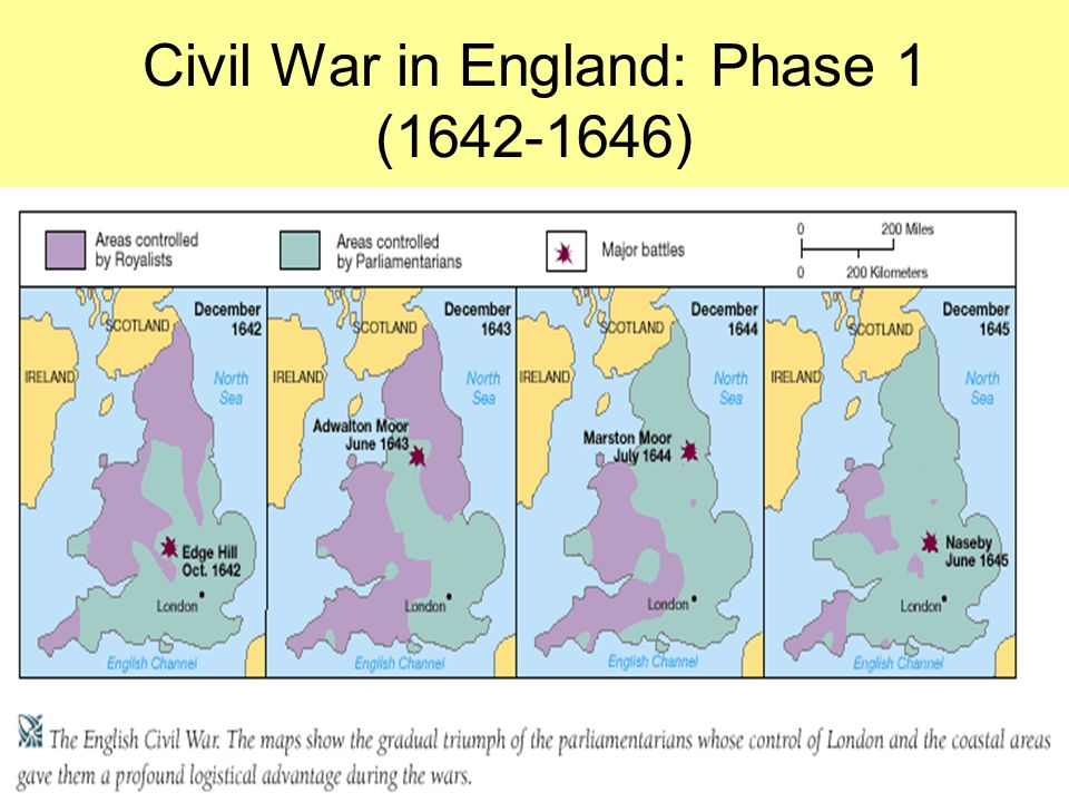 Civil War in England: Phase 1 (1642-1646)