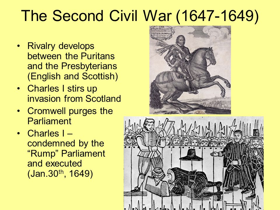 The Second Civil War (1647-1649)