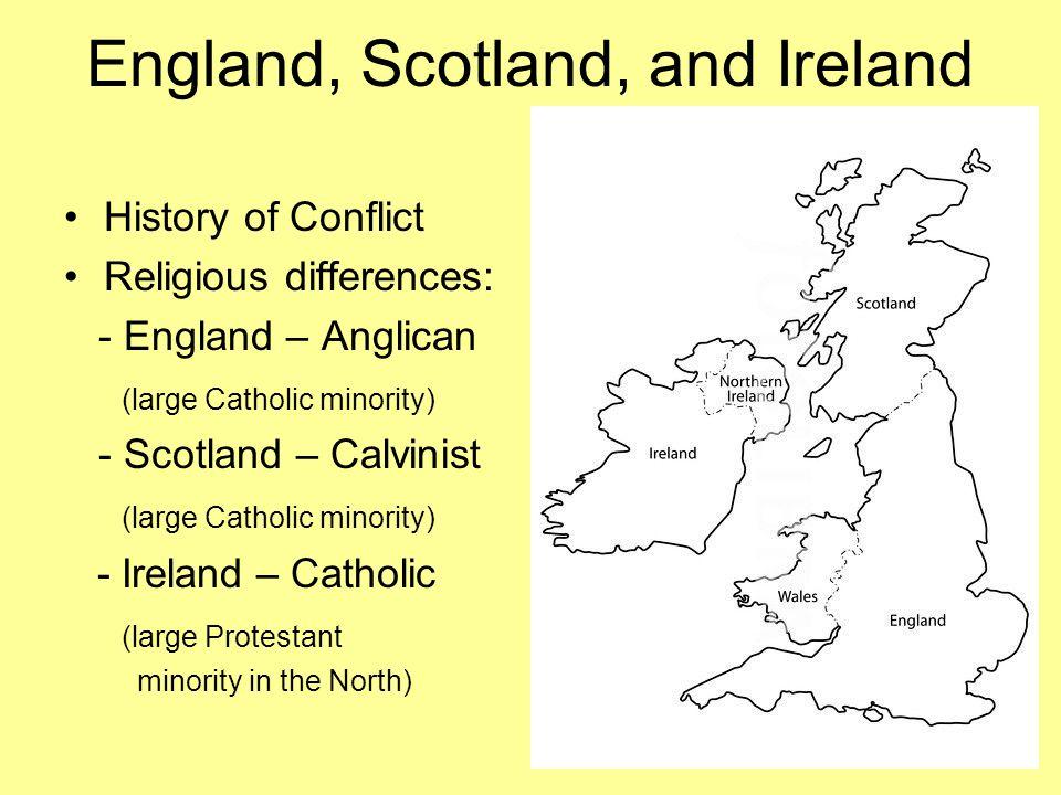 England, Scotland, and Ireland