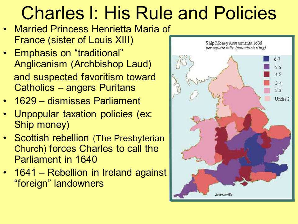 Charles I: His Rule and Policies