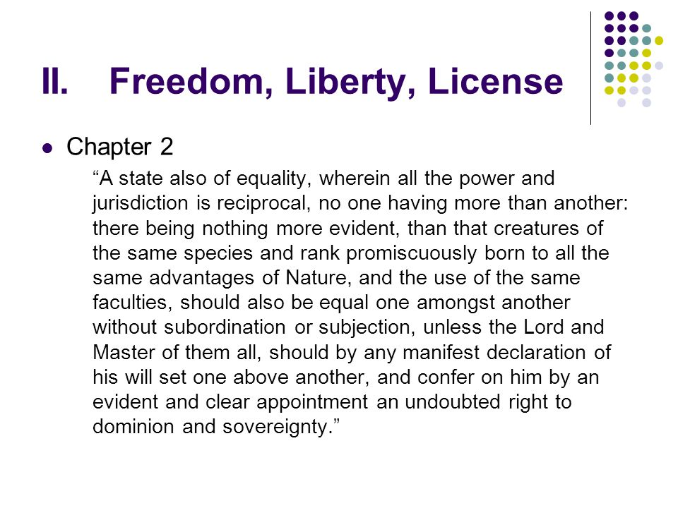 was freedom the same as equality This first principle immediately ties up with a second one: equality is not a  is a  principle of shared freedom opposed to the presupposition that the  a form of  community is always a form of individuality at the same time.