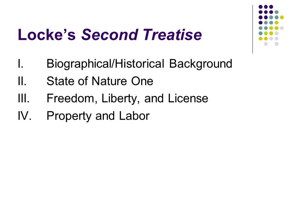 Locke's Second Treatise