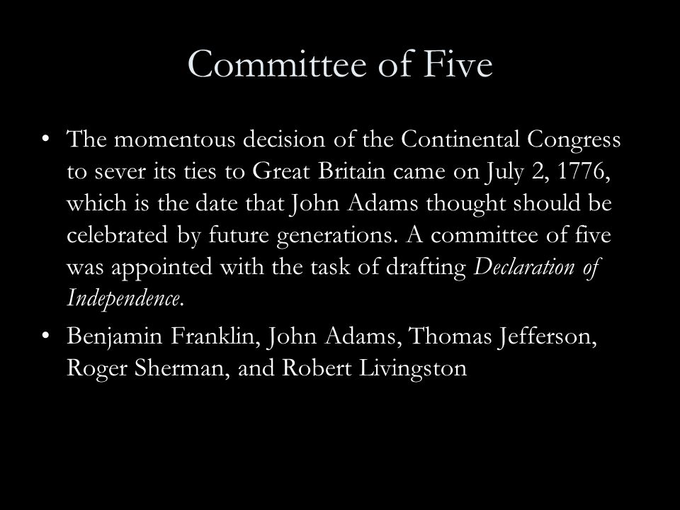 Committee of Five