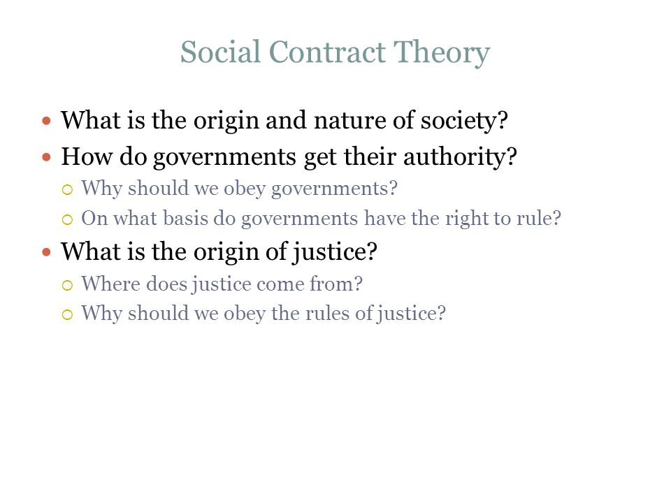 contract based ethical theory