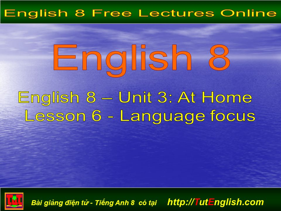English 8 Free Lectures Online