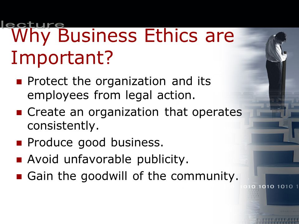 Why Business Ethics are Important