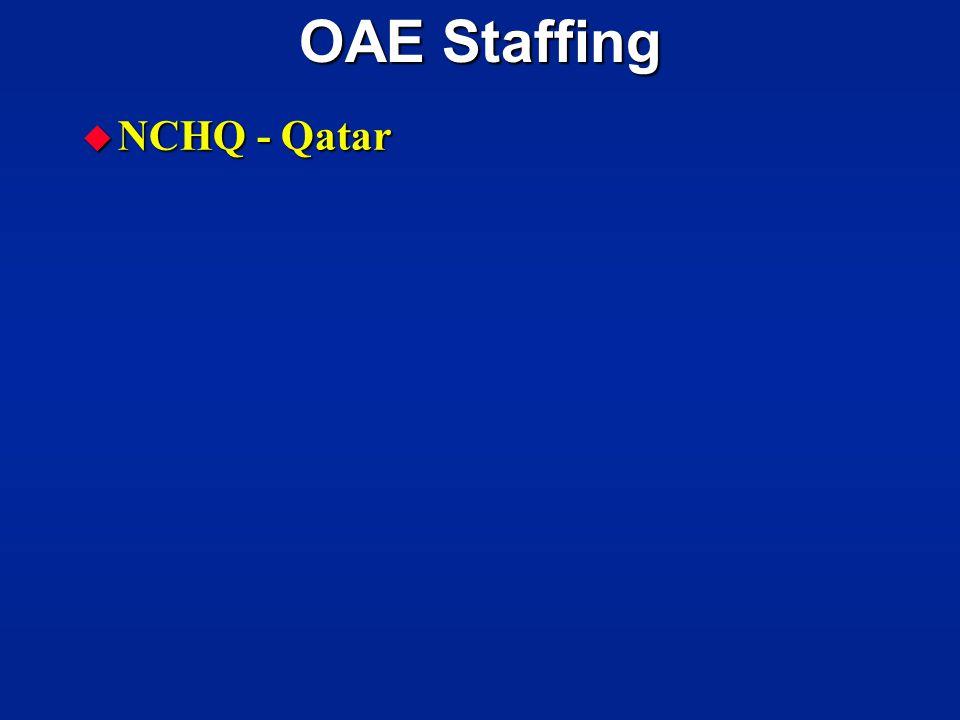OAE Staffing NCHQ - Qatar